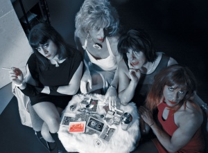Press Photo for the release of A Perfect Alibi, May, 2006. Sarafina, Marilyn, Tori and Shawna. Photo by Larry Utley.