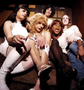 "Lipstick Conspiracy. The cover of the East Bay Express photo. ""The Fabulous 5"", by Rachel Swan. Oct 2005. Photo by Anthony Pidgeon."